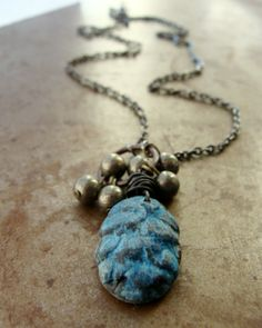 Forest Finds Pine Cone Pendant | Humblebeads Jewelry