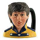 Royal Doulton Odd-size Character Jug, Paul McCartney D6724, Odd Size