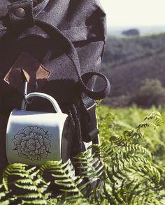 Tazas de acero esmaltado @RETROPOT Mugs #supakitch and #retropot #peltre #loza #custom #enamel #enamelware #katilu #tanque #pocillo