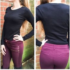 • Perfect Thermal Tops • 4 Colors: Navy, Grey, Black, Taupe (true to color in 3rd picture). Warm yourself up in these comfy, classic solid, thermal tops! Long sleeves and rounded neck, perfect for layering. These tops run fitted so if you want a loose look, size up.   🔸Model is 5'7, size 2, 32D, wearing a Small  🔸59% cotton, 39% polyester, 2% spandex  •no trades •10% off all bundles Jennifer's Chic Boutique Tops Tees - Long Sleeve