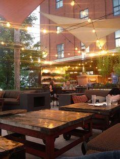 The Yard at the Iron Horse Hotel, Milwaukee | Affichomanie