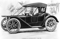 """In 1911 The American Motor Car Co introduced the """"Traveler"""" that was equipped with four cylinder 50 horsepower engines and 40 inch wheels and tires."""