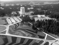 Tapiola_puutarha garden city concept  Tapiola, Espoo, FI