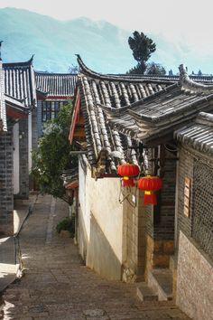 Traditional architecture in Lijiang, Yunnan, China