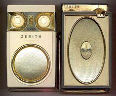Zenith Royal 500 transistor radios