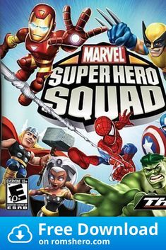 Download Marvel Super Hero Squad Us Nintendo Ds Nds Rom In 2020 Nintendo Ds Marvel Superheroes Marvel