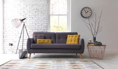 Shop our wide range of luxurious fabric sofas. We offer a range of classic and contemporary fabric sofas to buy online. G Plan Furniture, Retro Furniture, Home Furniture, Furniture Design, Mid Century Sofa, Mid Century Furniture, Sofa Design, Interior Design Living Room, Living Room Decor