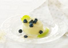 Pistacie is - Odense Marcipan Odense, Sorbet, Is, Panna Cotta, Ethnic Recipes, Food, Meals