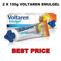 2 Χ 150g VOLTAREN EMULGEL Back Pain Gel Extra Strength Relieve Cream #Voltaren