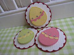 ideia para decoração caixa Páscoa Easter eggs by vsroses.com, via Flickr