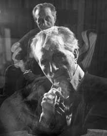 Triple Exposure of Marcel Duchamp Smoking a Cigar, by John D. Out Of Focus, National Portrait Gallery, Man Ray, Art Pictures, Art Pics, Conceptual Art, Double Exposure, Photos Du, Famous Artists