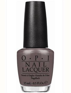 OPI | I Sao Paulo Over There | $8.50 GotBeauty.com #taupenailpolish #nyfw2014 #nails2014