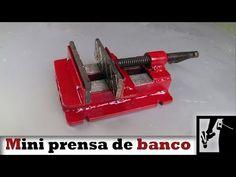 Homemade Tools, Diy Tools, Youtube, Ideas Para, Inventions, Workshop, Mini, Metals, Knives