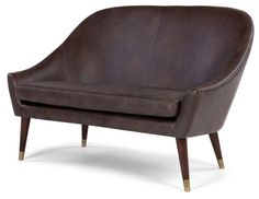 1960s-style Seattle sofa and armchair at Made