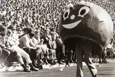 Brutus through the years - The Ohio State University 1975, the year we graduated from high school and got married.  Wow!