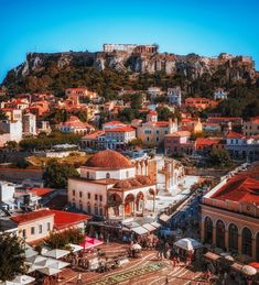 Athens, Greece World Cities, Best Cities, Places Around The World, Around The Worlds, Amazing Buildings, Tumblr, Beautiful Places To Visit, Amazing Places, Athens Greece
