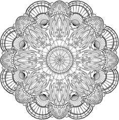 Welcome to Dover Publications Creative Haven Deluxe Edition Sea Life Mandalas