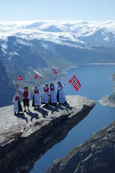 "Foto: Jostein Soldal for TV program ""Fly med oss"" Places Around The World, People Around The World, Around The Worlds, Places To Travel, Places To See, Norway Viking, Beautiful Norway, Scandinavian Countries, Visit Norway"