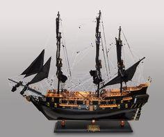 Модель Парусника Black Pearl черная жемчужина BPB-100 - Корабли и катера Вьетнам - Лампа Алладина