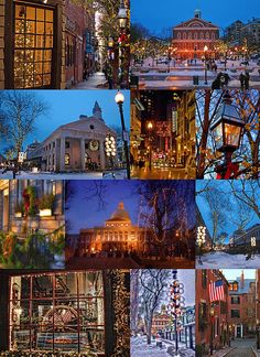Christmas in Boston. I want to go back for every season!