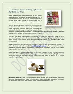 5 lucrative diwali gifting ideas, you can choose attractive Diwali Gifts with http://diwali.giftalove.com
