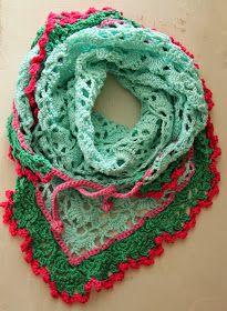 Ak at home : crochet * omslagdoek de zoveelste
