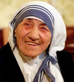 Mother Teresa at Missionaries of Charity in Calcutta