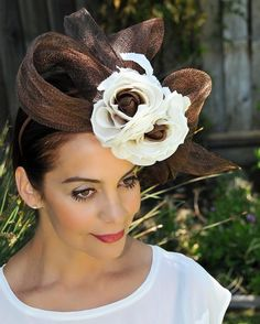 #kentuckyderby #couturehat #RoyalAscot #exclusivehats #occasionhat