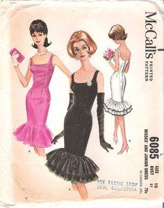 Stunning Vintage McCalls Sewing Pattern by GrandmaMadeWithLove