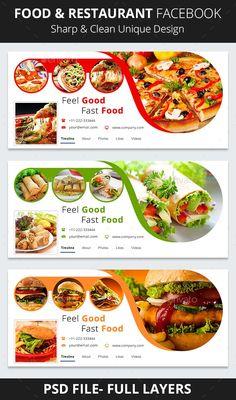 1553 best design ideas images in 2019 Food Graphic Design, Food Menu Design, Food Poster Design, Web Design, Facebook Cover Design, Facebook Cover Template, Facebook Timeline, Restaurant Flyer, Restaurant Menu Design