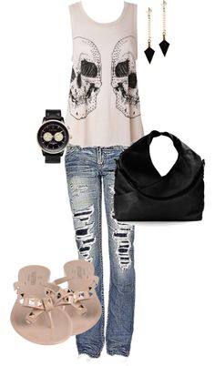 """Sunday Errands"" by j-annazacharias on Polyvore"