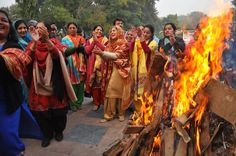 Lohri is an exuberant celebration of passing of the month of the winter solstice; as well as the harvest of the Rabi crop. The celebrations include huge bonfires, dancing, loads of hard caramel candy and big feasts. Lohri marks the beginning of a new season! All of us at Sacred Dot Tours wish you a very Happy and Joyous Lohri.  #Lohri #Festival Image courtesy : freevisuals4u