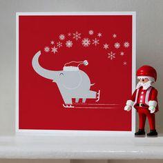 Festive Eleskates Christmas Cards