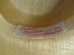 WOMENS Cream LADIES Sinamay Hat Medium Brim Bee by KinderTreasures, $46.00