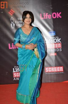 Divya Dutta at Mirchi Music Awards in Mumbai on Feb 2015 Divya Dutta, In Mumbai, Music Awards, Bollywood, Sari, Actresses, Indian, Celebrities, Hot