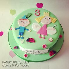 Ben & Holly's Little Kingdom #cake #ben&holly #littlekingdom