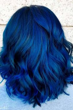 20 Amazing Blue Black Hair Color Looks Blue Hair Amazing Black Blue color hair Blue Black Hair Color, Dark Blue Hair, Dyed Hair Blue, Dye My Hair, Hair Color For Black Hair, Cool Hair Color, Purple Hair, Pastel Hair, Green Hair