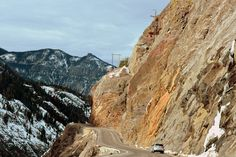 Ouray Colorado and the Million Dollar Highway