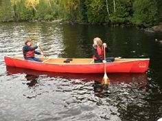 Souris River Kevlar Canoes Quetico *Please order with: colour=red, yoke=standard, bow seat=sliding, trim=aluminium. Kevlar Canoe, One With Nature, Canoes, Colour Red, Wilderness, Bow, Outdoors, River, Gallery