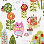 Keiki Cherry On Top Sweet Critters Icing [MODA-32700-11] - $10.45 : Pink Chalk Fabrics is your online source for modern quilting cottons and sewing patterns., Cloth, Pattern + Tool for Modern Sewists