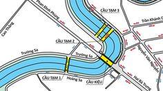 Phân luồng giao thông qua cầu Kiệu - http://phanbon.biz/phan-luong-giao-thong-qua-cau-kieu/