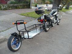 Pull Behind Motorcycle Trailer, Foto Cars, Homemade Trailer, Suzuki Motos, Mini Caravan, Kombi Motorhome, Bicycle Engine, Suzuki Cafe Racer, Expedition Trailer