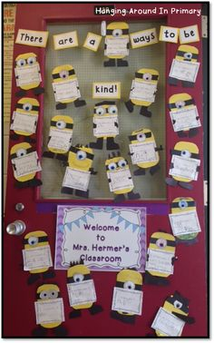 "Bullying Awareness week - There are a ""Minion"" ways to be kind!"