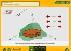 Recurso Educativo en Abierto Procomún para Primaria. Estudio del sistema métrico decimal: la longitud.