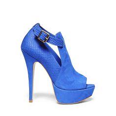 71ddac4c86b ACCURATE BLUE NUBUCK women s dress high platform - Steve Madden Steve Madden  Boots