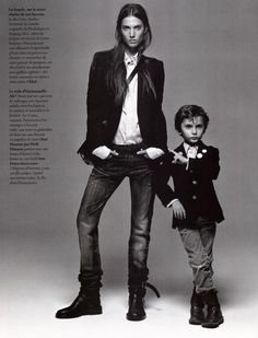 can see a father son portrait like this
