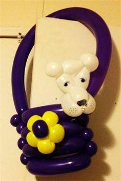Doggie In Purse Balloon Twisting Art