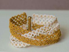 Black lace cuff bracelet/tatted bracelet/lace bracelet/black bracelet/lace jellewery/cuff bracelet, Valentines gift for her Bracelet Tatting, Tatting Armband, Tatting Earrings, Lace Bracelet, Tatting Jewelry, Lace Jewelry, Tatting Lace, Crochet Bracelet, Handmade Jewelry