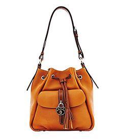 Dooney and Bourke Samba Drawstring Bag #Dillards. Yes please and thank you ;)