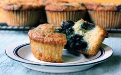 Blueberry Breakfast Cakes Recipe on Yummly